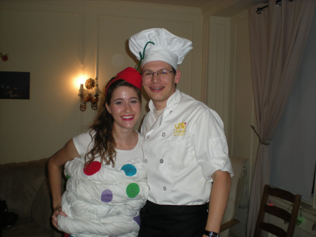 It really started a few years after we were marriedu2013the year before we had a baby. Halloween 2010 was the year of the BAKER  sc 1 st  Honey on my Spoon & Halloween Costumes 2010- Cupcake and Baker | Honey on my Spoon