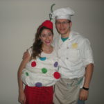 Halloween Costumes 2010- Cupcake and Baker