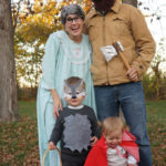 Halloween Costumes 2014- Little Red Riding Hood and Clan